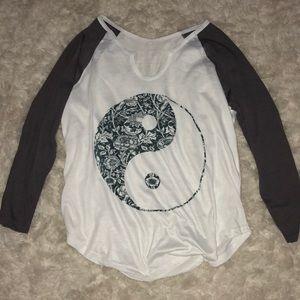 Tops - Yin-Yang long sleeve shirt